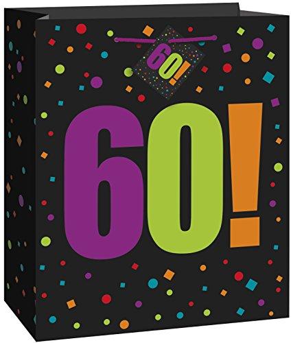 """60a Partido Ênico """"Cheer cumpleaños"""" gran bolsa de regalos"""