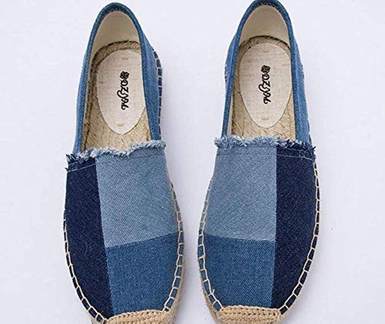 Oudan - Jean délavé, Toile, Chaussures, Bleu, comme 36 (coloré : comme Bleu, montré, Taille : Taille Unique) 4bd2fd