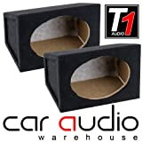 "brand new 6""x9"" Speaker Subwoofer Box Speakers Pair Wood"