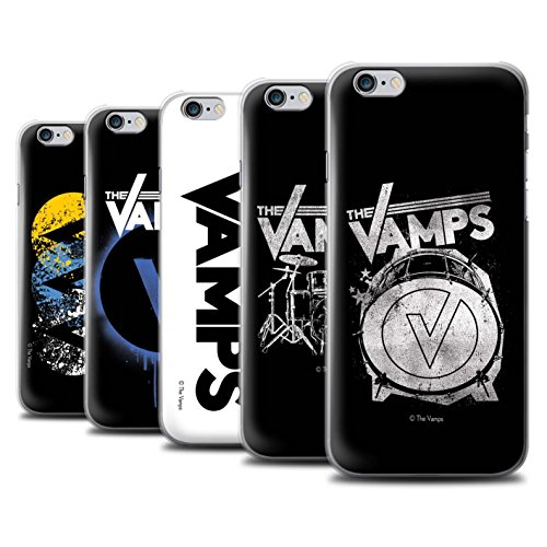 Officiel The Vamps Coque / Etui pour Apple iPhone 6S / Pack 6pcs Design / The Vamps Graffiti Logo Groupe Collection Pack 6pcs