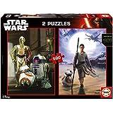 Star Wars - 2 puzzles, ep. VII - El Despertar de la Fuerza, 500 piezas (Educa Borrás 16523.0)