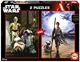 Educa 16523.0 - Puzzle - 2x500 Star Wars: EP. VII - The Force Awakens