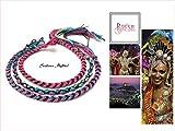 Lot de 3 Bracelets Brésiliens (multicolore)