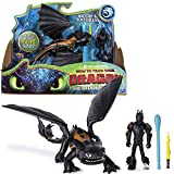 Dragons Dragon Sdentato e Hiccup | Action Game Set | DreamWorks Toothless