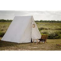 A - framed Tent ANGLO Saxon Reenactment CIVIL WAR tarp TARPAULIN pre medival canvas for Living history bell frame knight