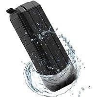Altavoz Estéreo Portátil Bluetooth IPX5 Resistente Al Agua, Subwoofer Estéreo Para Exteriores Con Sonido Y Bajo HD, Adecuado Para Hogar Al Aire Libre (Negro)