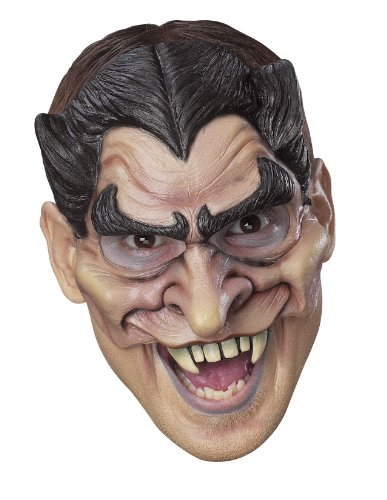 Preisvergleich Produktbild Dracula-Halbmaske Aus Vinyl