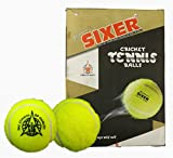 #7: Sixer Cricket Tennis Balls , Pack of 6 (Yellow)