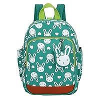 DNFC Kids Backpack Cute Toddler Rucksack Rabbit Animals Kindergarten Backpack Nursery Bag Children Bookbag Boys Girls Backpack Rucksack