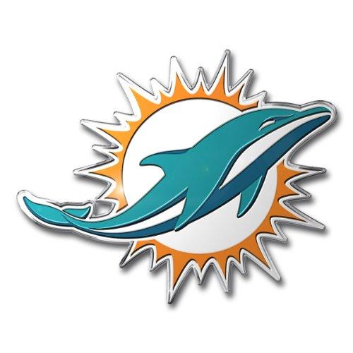 Team ProMark NFL Stanz-Emblem, Farbe, Miami Dolphins, 4