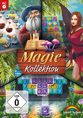 Magie Kollektion - Match 3 Gewinnt - 3 Spiele in einer Box für Windows 10 / 8.1 / 7 / Vista (Legend Zelda Of Quest Master)