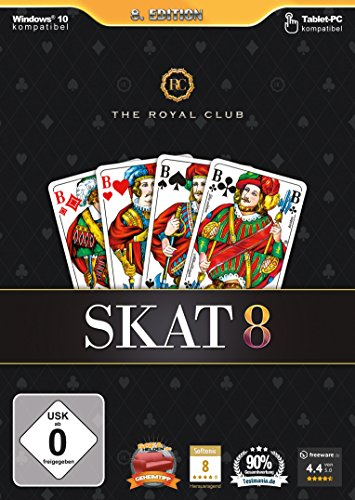 The Royal Club - Skat 8 - [PC] (Pc-dvd)