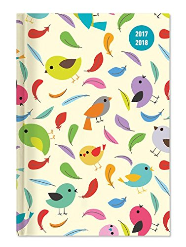 Diary School collegetimer Birds 2017/2018–Daily–352pages–10x 15cm