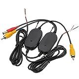 SODIAL(R) 2.4G Drahtloser Video Sender & Empfaenger fuer Auto Unterstuetzungskamera-Monitor S16K