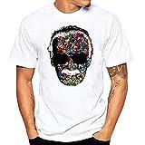 JJZHY Haut à Manches Courtes pour Hommes Stan Lee Personality Print Tee Shirt Homme,D,XL
