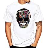 JJZHY T-Shirt da Uomo con Stampa a Maniche Corte Stan Lee,D,XL