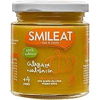 Smileat Tarrito de Calabaza y Calabacín Zucchini Ecológico - 230 gr