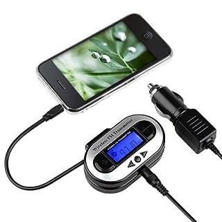 Insten LCD Car FM Transmitter for MP3/iPod/Zune