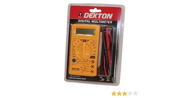 Dekton DT95210 Multim/ètre num/érique