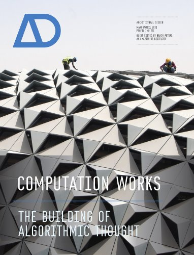 Computation Works: The Building of Algorithmic Thought (Architectural Design) por Xavier De Kestelier