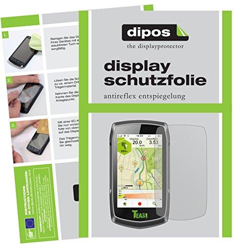 dipos I 3X Schutzfolie matt passend für Teasi One 3 Extend Folie Displayschutzfolie