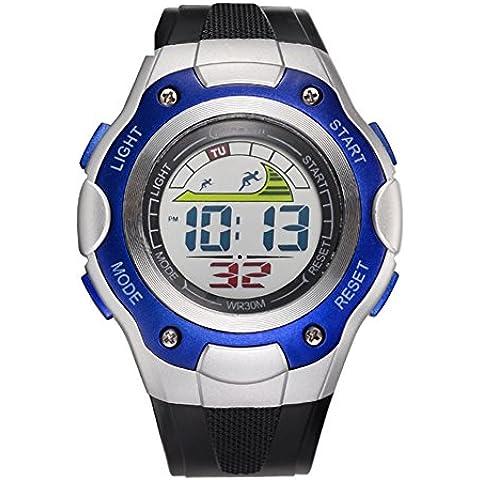 Studente orologio/Impermeabile orologio sportivo/Orologi di moda/ running Chronograph Watch-D