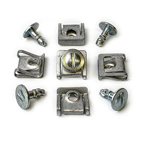 10x Set Befestigung Metall Unterfahrschutz Unterboden Motorschutz Clips Für Audi VW & Skoda Klammer Schrauben 8D0805960 8D0805121 | CL-0344+CL-0346 Test