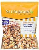 Seeberger Gebrannte Erdnusskerne mit Sesam, 12er Pack (12 x 150 g)