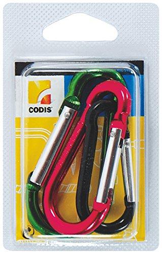 codis Mousqueton Aluminium 3 tailles