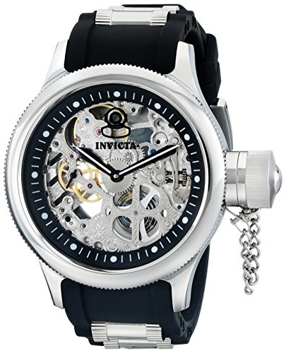 Invicta Men's Black Polyurethane Analogue Watch - 1088 image