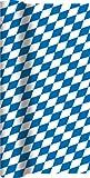Unbekannt Tischläufer Rolle Bayernraute/Airlaid/Tischband Bayern bayrisch für Party/Geburtstag/Oktoberfest/Tischtuch 40cm x 4,90m