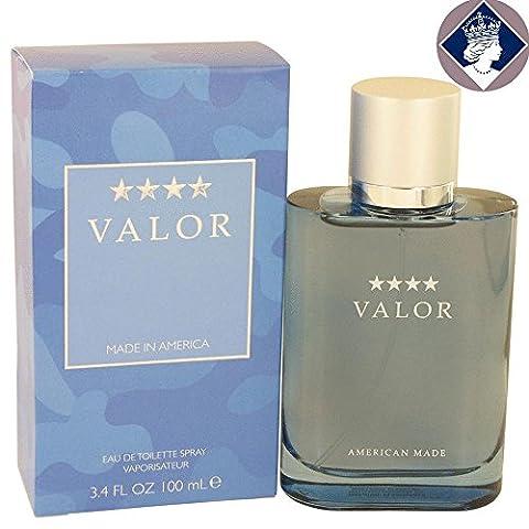 Dana Valor for Men 100ml/3.4oz Eau De Toilette Spray Cologne Fragrance for Him