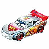 Carrera - Coche GO 143 Disney/Pixar Cars Silver Lightning McQueen, escala 1:43 (20061291)