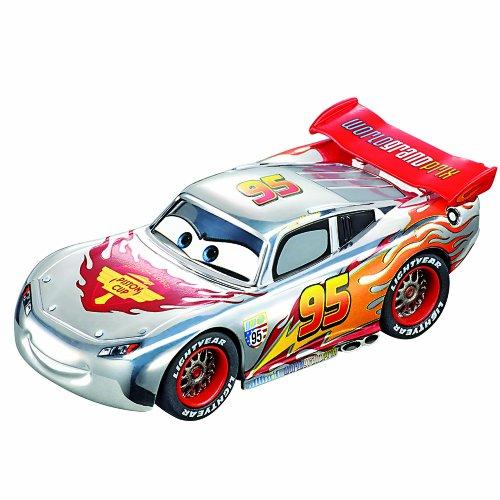 Carrera-Go-20061291-Radio-Commande-Vhicule-Miniature-et-Circuit-Silver-Lightning-McQueen