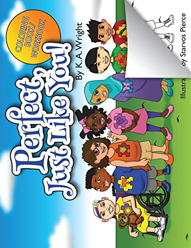 Perfect, Just Like You!: Coloring Book/Workbook