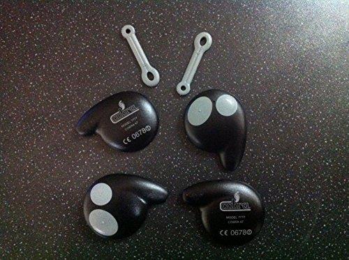 Allarme Auto Cobra 7777 Nuovo Stile Chiave Telecomando Di Sostituzione Case guscio kit x 2