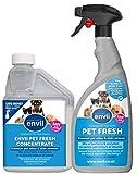 Envii Pet Fresh - Elimina Malos Olores y Manchas Del Orina de Mascotas - 500ml de concentrado y pulverizador de 750ml