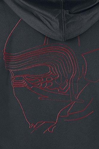 Star Wars Episode 8 - Die letzten Jedi - Kylo Ren Inspired Giacca allenamento nero/rosso Nero/Rosso