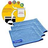 Jemako Profituch klein 3er Set in blau inkl. feinmaschiges Wäschenetz 40 x 50 cm