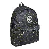 Hype Schwarz / Neon Grün Speckle Rucksack Tasche - ideal Schule Taschen - Rucksack für Jungen und Mädchen