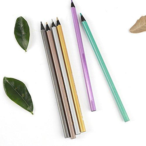 Blue Vessel Colored Pencils Buntstifte 12 Farben Bleistifte
