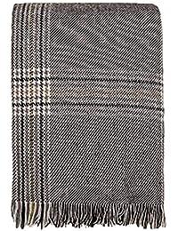 83949aa1100 Miss Carré Echarpe pour femme Echarpe pied de poule écharpe en laine  écossaise Étole Echarpe en