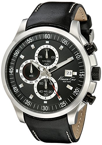kenneth-cole-homme-45mm-chronographe-noir-cuir-bracelet-date-montre-kc8093