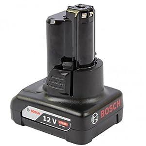 Bosch Professional 1600Z0002Y GBA Batteria, 12 V, 4.0 Ah, Colore Nero