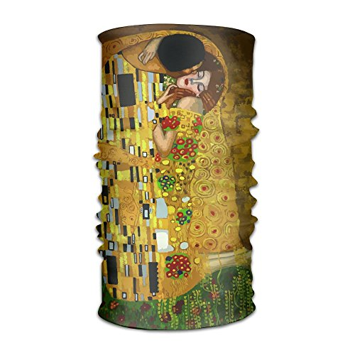 Pengyong Gustav Klimt Kisses Unisex Fashion schnelltrocknend Mikrofaser Kopfschmuck Outdoor Magic Schal Hals Hals Schal Kapuzen Schal Super Soft Griff Fashion Unisex Schal