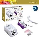 Meanail Elektrische Nagelfräser Set für Maniküre und Pediküre wie im