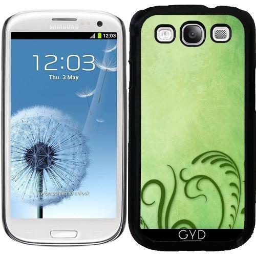 Hülle für Samsung Galaxy S3 (GT-I9300) - Grün Stilisierten Gras by Britta Glodde (Galaxy S3 Fall Unkraut Samsung)