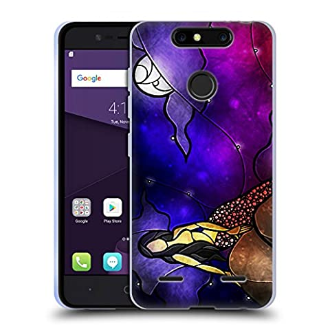 Official Mandie Manzano Fairy Tale Mermaid Soft Gel Case for ZTE Blade V8 Mini