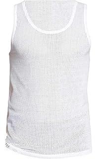 New Mens 3 Pair Pack 100/% Cotton Y-Front Airtex Mesh White Underwear Briefs