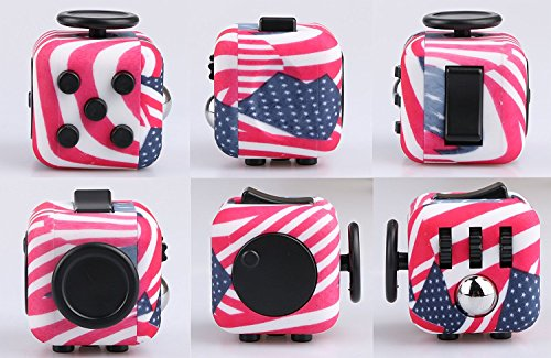 Wangyue NEW Camouflage Series of Fidget Toy Fidget Cube Stress Reducer Relieves Stress And Anxiety Toy - 4
